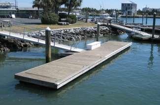Boat Slip B Dock #62, Radio Island