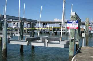 Boat Slip B Dock #49 and Lift, Radio Island